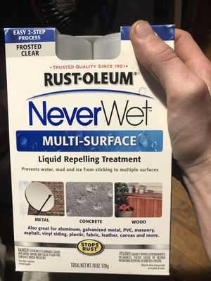 Rustoleum never wet for Sale in West Windsor, NY