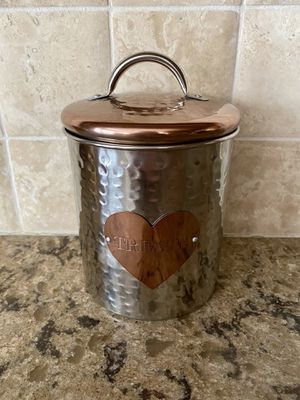 NEW Cute Dog or Cat Treat Container for Sale in Arvada, CO