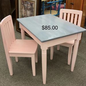 Kids Table and Chairs for Sale in Saint Robert, MO