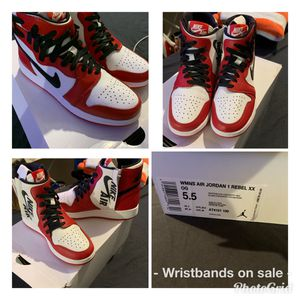 Women air Jordan 1 Rebel XX OG size 5.5 for Sale in New Orleans, LA