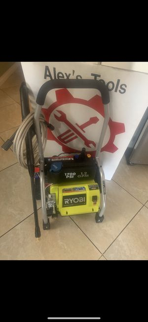 Ryobi 1700 psi pressure washer for Sale in Riverside, CA