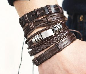 Unisex- Multi Layer Brown Bracelet- Buckle Strap Designe for Sale in Dallas, TX
