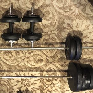 Barbells And Dumbbells for Sale in Miller Place, NY