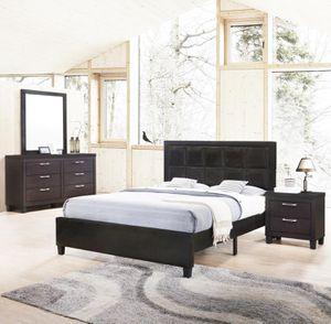5PC Dark Walnut Bedroom Set *BRAND NEW* for Sale in Washington, DC
