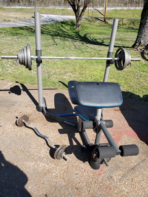 Weight bench with weights for Sale in Lebanon, TN