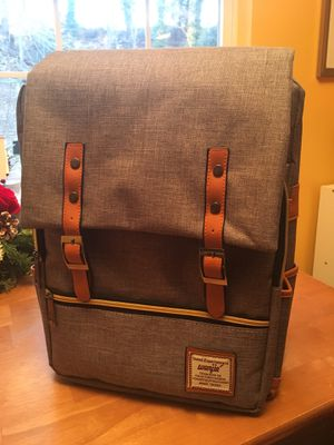 Vintage canvas and leather backpack for Sale in Fort Washington, MD