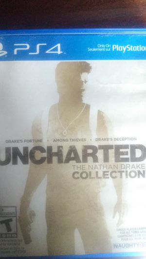 Uncharted Nathan Drake collection ps4 for Sale in San Bernardino, CA