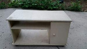 Small shelf table cabinet for Sale in Denver, CO
