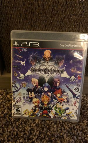 Kingdom hearts 2.5 for PS3 for Sale in Roanoke, TX