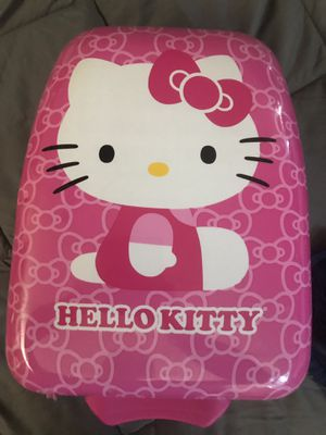 Hello Kitty Suitcase TSA Approved with Push Button Handle for Sale in Rancho Santa Margarita, CA