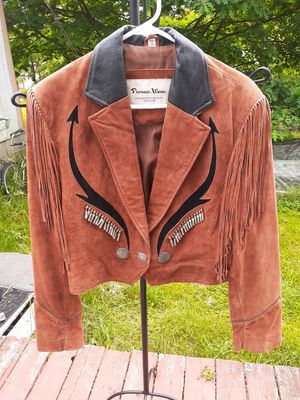Vintage Pioneer Suede Leather Jacket for Sale in Roy, WA