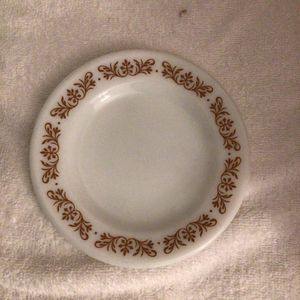"Pyrex ""Copper Filigree"" Line, Bread Plate.. Single Piece 1960s Version Vintage for Sale in San Jose, CA"
