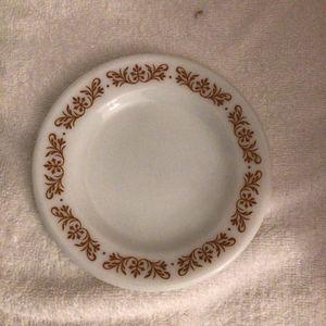 "Pyrex ""Copper Filigree"" Line, Bread Plate.. Single Piece 1960s Version Vintage for Sale in San Jose, CA"