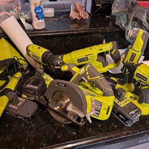 RYOBI 18V COMBO Kit for Sale in Norfolk, VA