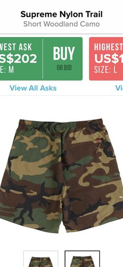 Supreme Nylon Camo Shorts for Sale in Santa Fe Springs,  CA