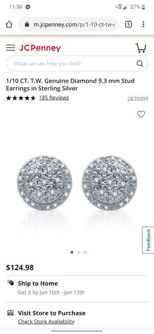 Diamond earrings for Sale in Vaucluse, SC