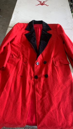 Long red coat for Sale in Raeford, NC