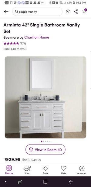 """42"""" vanity for Sale in Boca Raton, FL"""