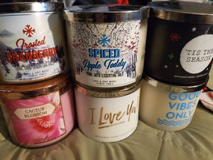 Bath and body works candles for Sale in Palatine, IL