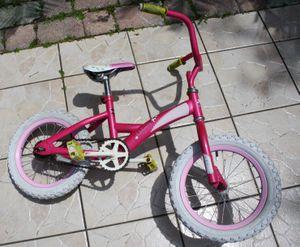 "14"" girls pink bike for Sale in Kissimmee, FL"