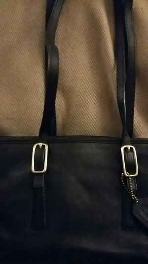 Coach Black Leather Purse for Sale in Rogers, MN