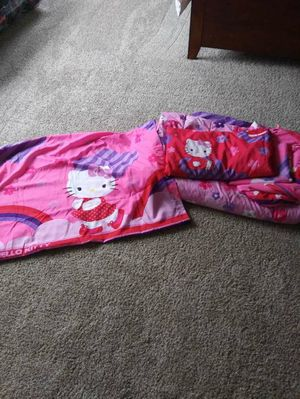 Hello kitty twin bedding set for Sale in Colorado Springs, CO