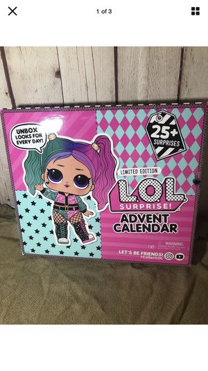 Lol doll advent calendar Christmas Xmas countdown NEW for Sale in San Diego, CA