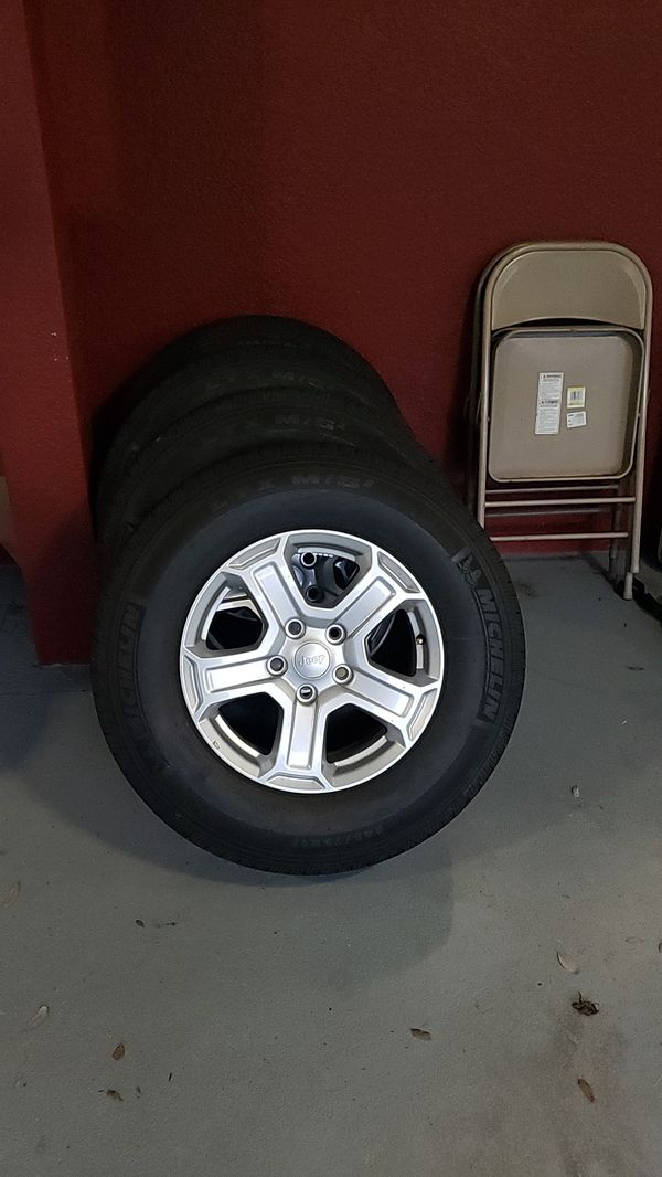 2020 jeep aluminum wheels and tires