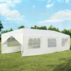 10'x30' Outdoor Party Wedding Tent Canopy Heavy duty Gazebo Pavilion 8 Sidewall for Sale in Monterey Park, CA