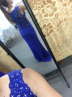 Royal blue prom dress for Sale in Lakewood, CO