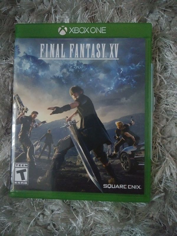 Final fantasy fifteen Xbox one