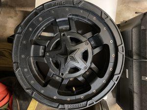 KMC Rockstar Wheels XD827 for Sale in Redlands, CA