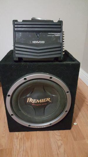 Pioneer Premier 12 & Amp& Bx($90) for Sale in Long Beach, CA