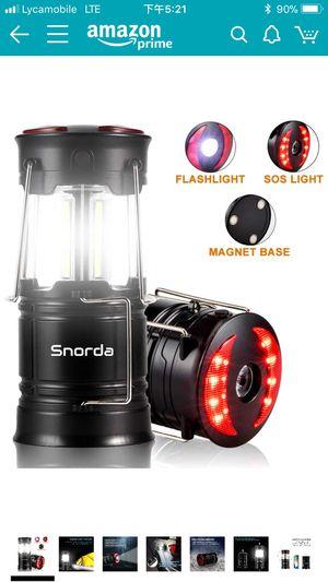 Brand new Snorda 2 Pack LED Camping Lantern for Sale in Jacksonville, FL