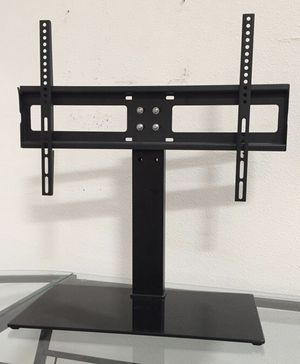 New in box 30 to 60 inches tv television stand replacement 120 lbs capacity dresser table tv stand tv mount soporte de tv for Sale in Baldwin Park, CA