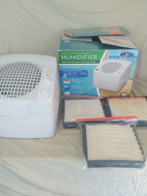 Essick Air Humidifier with Filters for Sale in Largo, FL