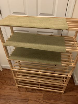 Double shoe rack for Sale in Washington, DC