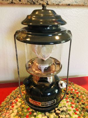 COLEMAN 288 ADJUSTABLE TWO MANTLE LANTERN DATED 6/89 for Sale in Rancho Cucamonga, CA