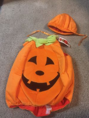 Pumpkin costume for toddlers for Sale in West Covina, CA