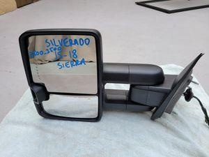 Chevy silverado sierra 2014 2015 2016 2017 2018 left mirror for Sale in Lawndale, CA