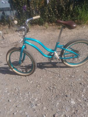 "20"" Raleigh. Blue cutie cruiser. for Sale in Roseville, CA"