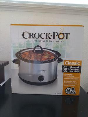 Crock-Pot Model #SCR450-S for Sale in Concord, CA