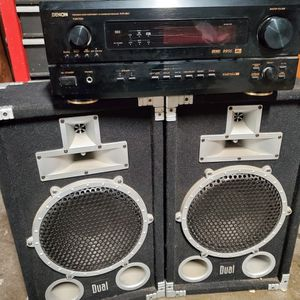 Stereo Receiver And Speakers for Sale in Los Angeles, CA