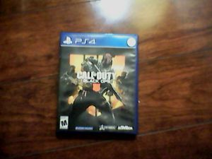 CALL OF DUTY BLACK OPS 4 - ps4 for Sale in Rockville, MD