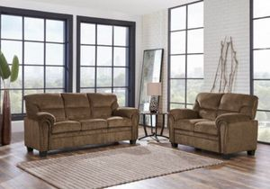 NEW 3 PCS SOFA , LOVESEAT AND CHAIR JASMINE BROWN for Sale for sale  Clifton, NJ