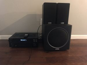 Pioneer/Polk Home Theater Audio System for Sale in Euless, TX