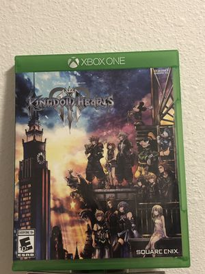Kingdom Hearts 3 Xbox One for Sale in Seattle, WA
