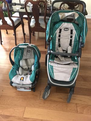 Chicco Keyfit 30 Combo - Kelly Green for Sale in Salisbury, MD