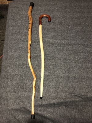 Koa walking cane I have more all kind Different sizes and different shapes just let me know for Sale in Honomu, HI