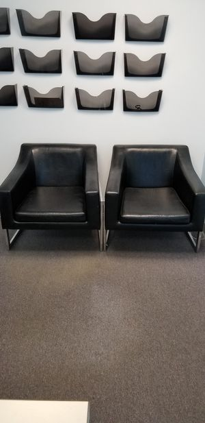 Leather chairs for Sale in Fairfax, VA